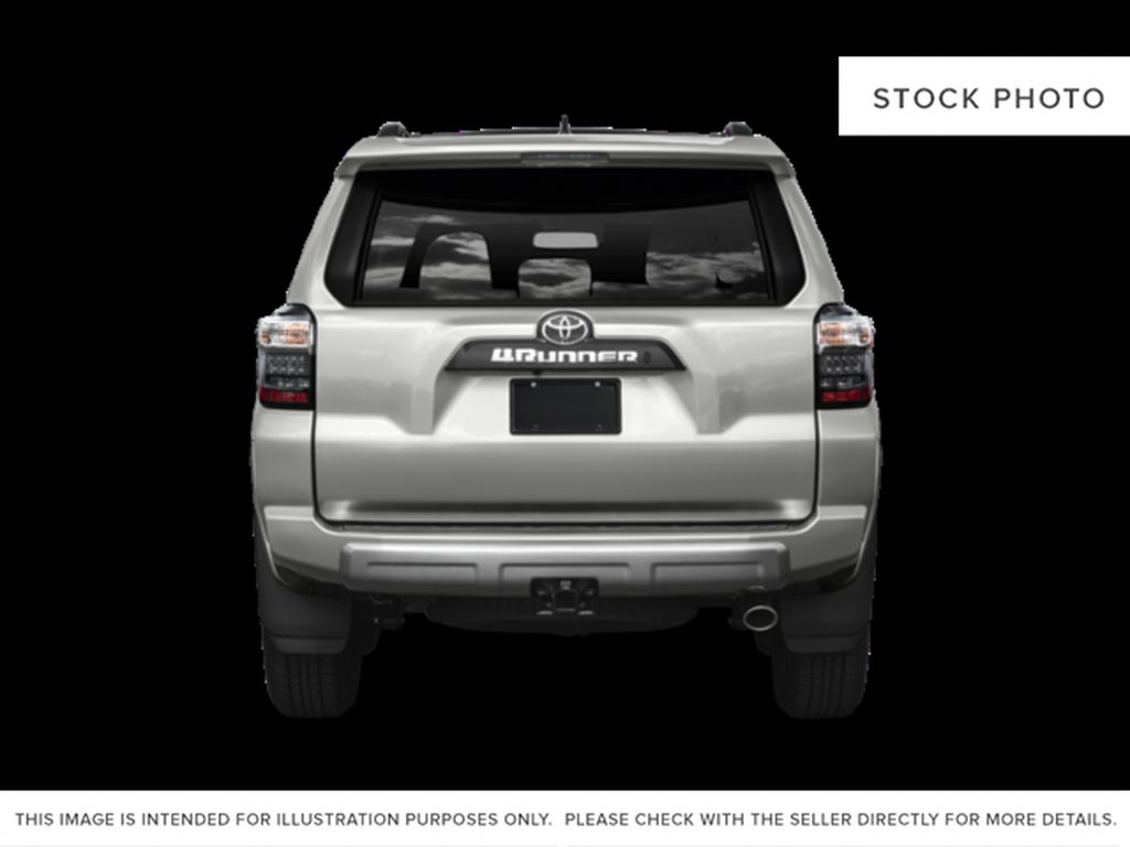 Gray[Magnetic Grey Metallic] 2021 Toyota 4Runner Limited Rear of Vehicle Photo in Edmonton AB