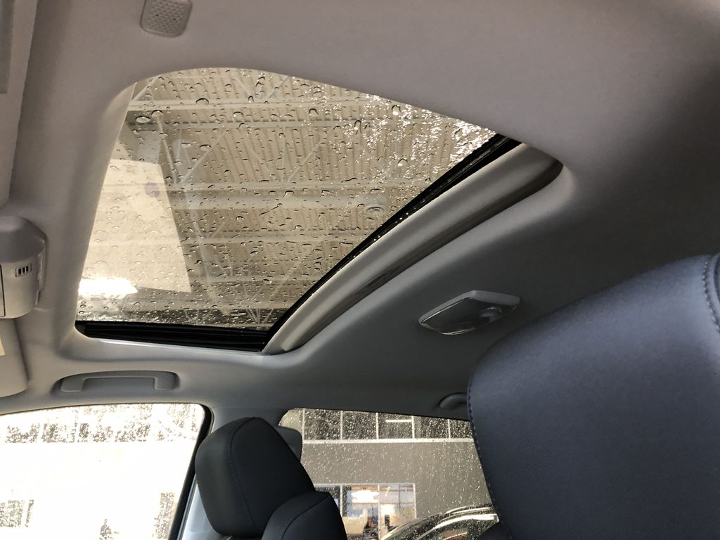 Cement Grey Metallic 2021 Toyota Tundra 4WD Crewmax TRD Off Road Central Dash Options Photo in Edmonton AB