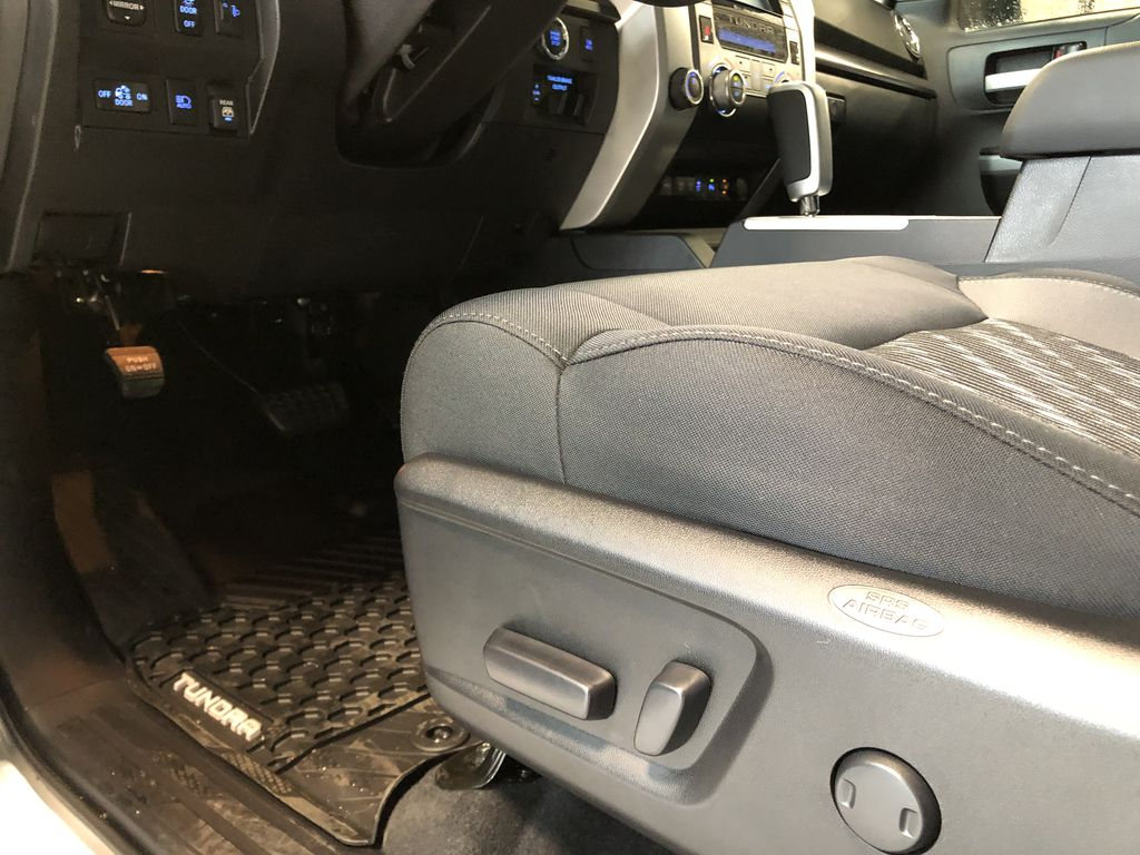 Cement Grey Metallic 2021 Toyota Tundra 4WD Crewmax TRD Off Road Right Side Front Seat  Photo in Edmonton AB