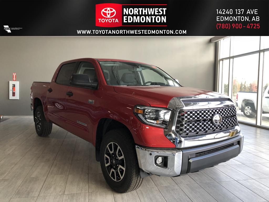Barcelona Red Metallic 2021 Toyota Tundra 4WD Crewmax TRD Off Road