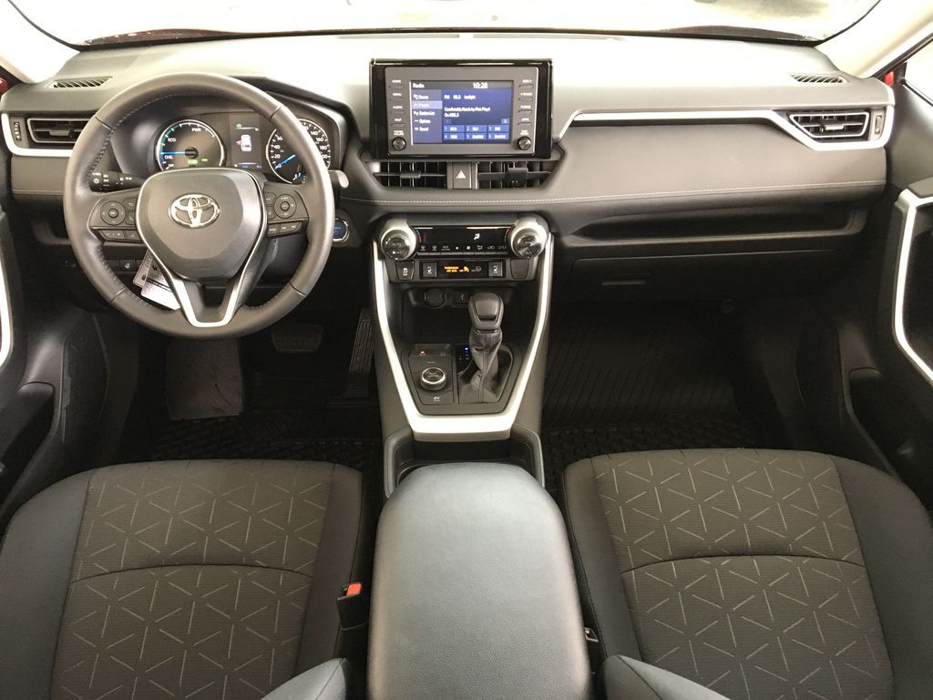 Red[Ruby Flare Pearl] 2021 Toyota RAV4 Hybrid  XLE Main Interior Photo in Kelowna BC