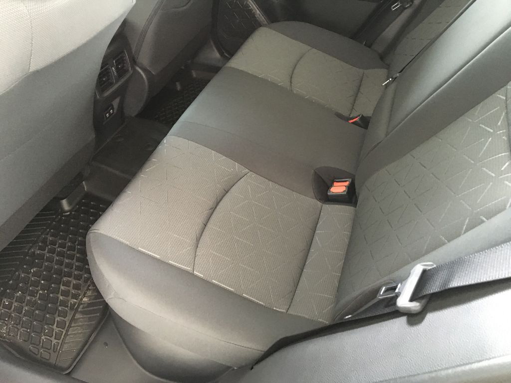 Red[Ruby Flare Pearl] 2021 Toyota RAV4 Hybrid  XLE Right Side Rear Seat  Photo in Kelowna BC