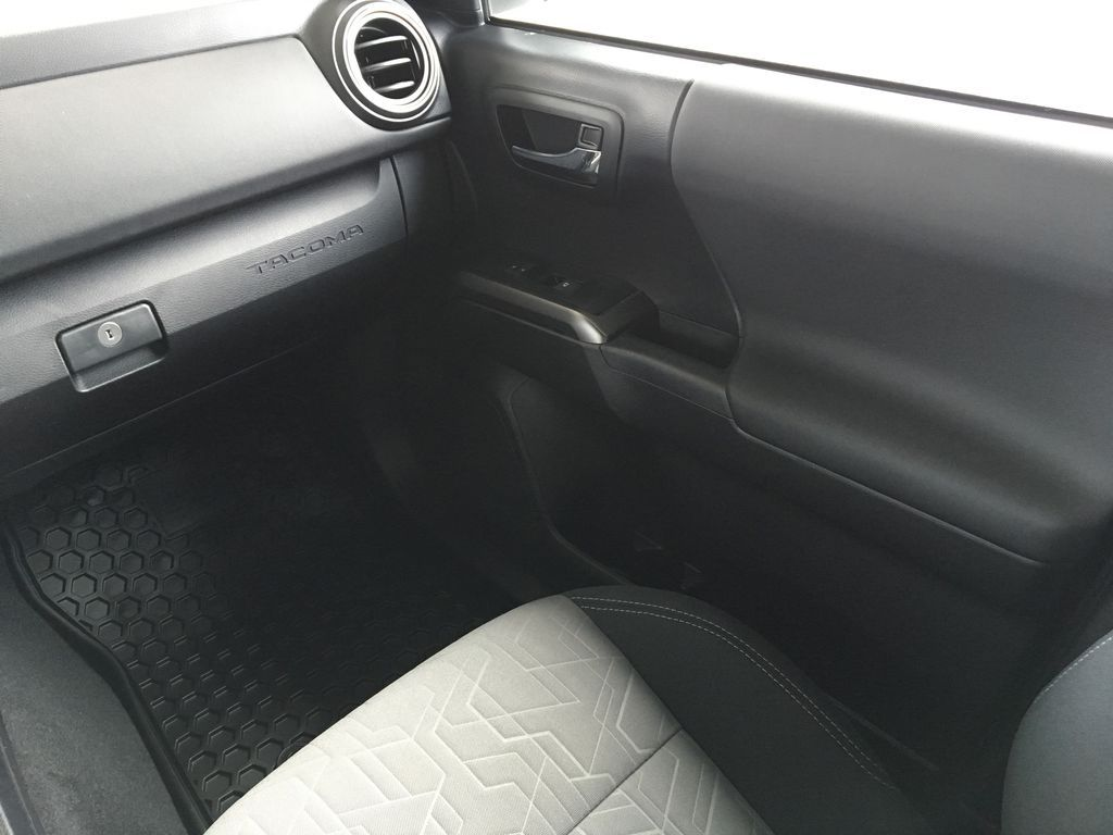 White[Super White] 2020 Toyota Tacoma TRD Off Road Right Front Interior Door Panel Photo in Kelowna BC