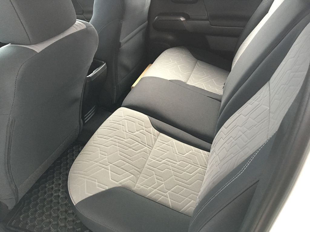 White[Super White] 2020 Toyota Tacoma TRD Off Road Right Side Rear Seat  Photo in Kelowna BC