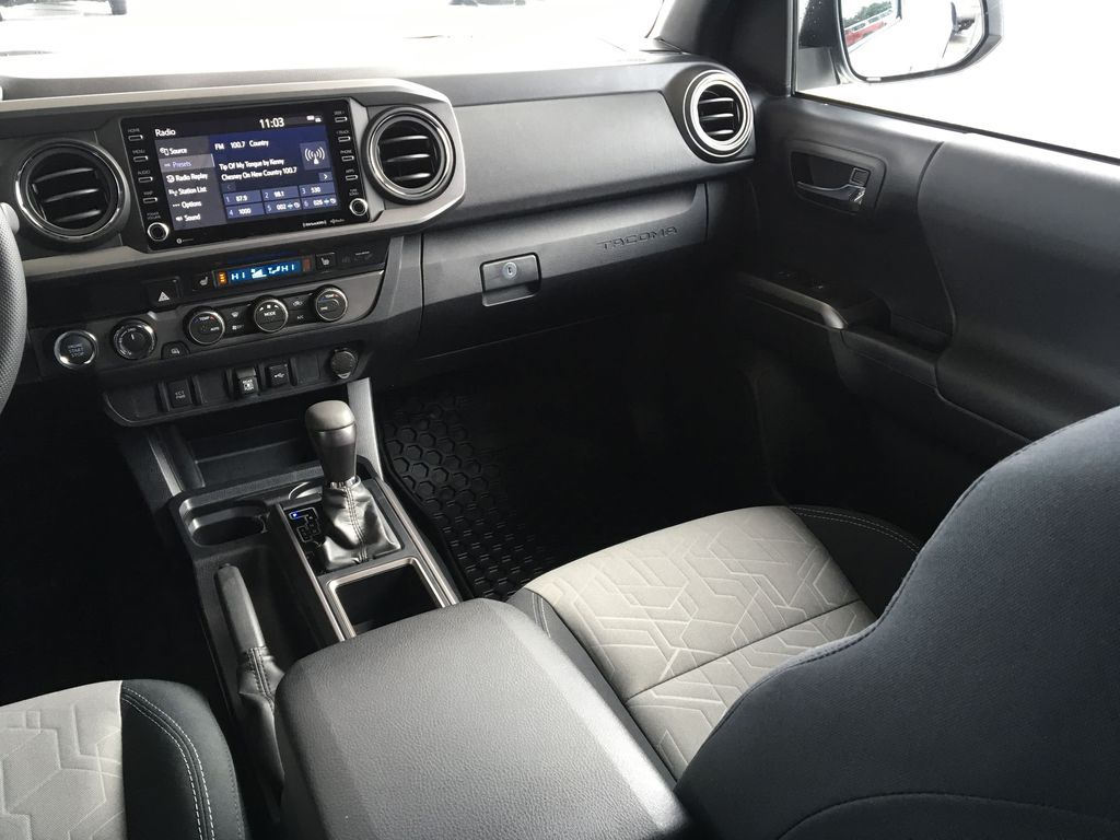White[Super White] 2020 Toyota Tacoma TRD Off Road Right Side Front Seat  Photo in Kelowna BC