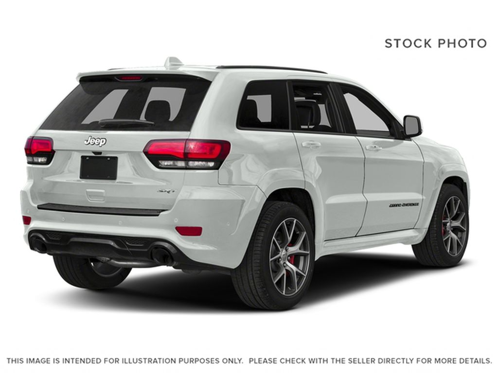 White[Bright White] 2018 Jeep Grand Cherokee Right Rear Corner Photo in Fort Macleod AB