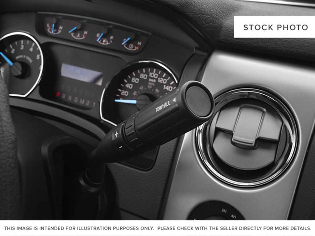 Blue[Blue Flame] 2014 Ford F-150 Center Console Photo in Fort Macleod AB