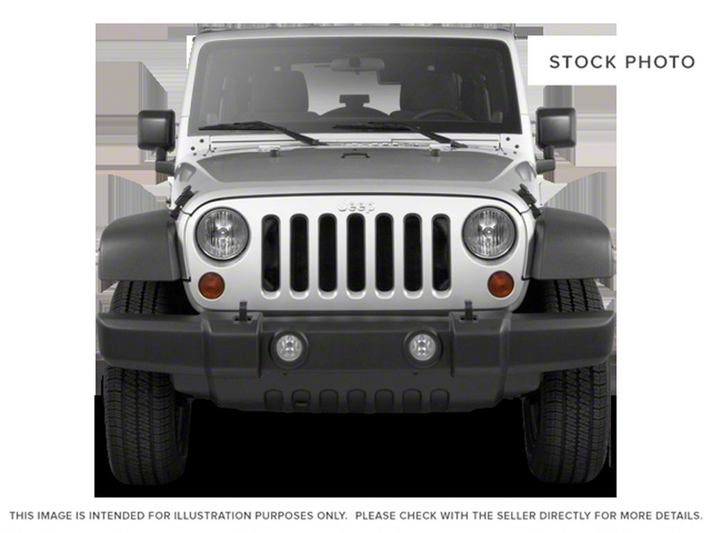 Silver[Bright Silver Metallic] 2011 Jeep Wrangler Unlimited Front Vehicle Photo in Fort Macleod AB