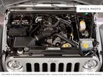 Silver[Bright Silver Metallic] 2011 Jeep Wrangler Unlimited Engine Compartment Photo in Fort Macleod AB