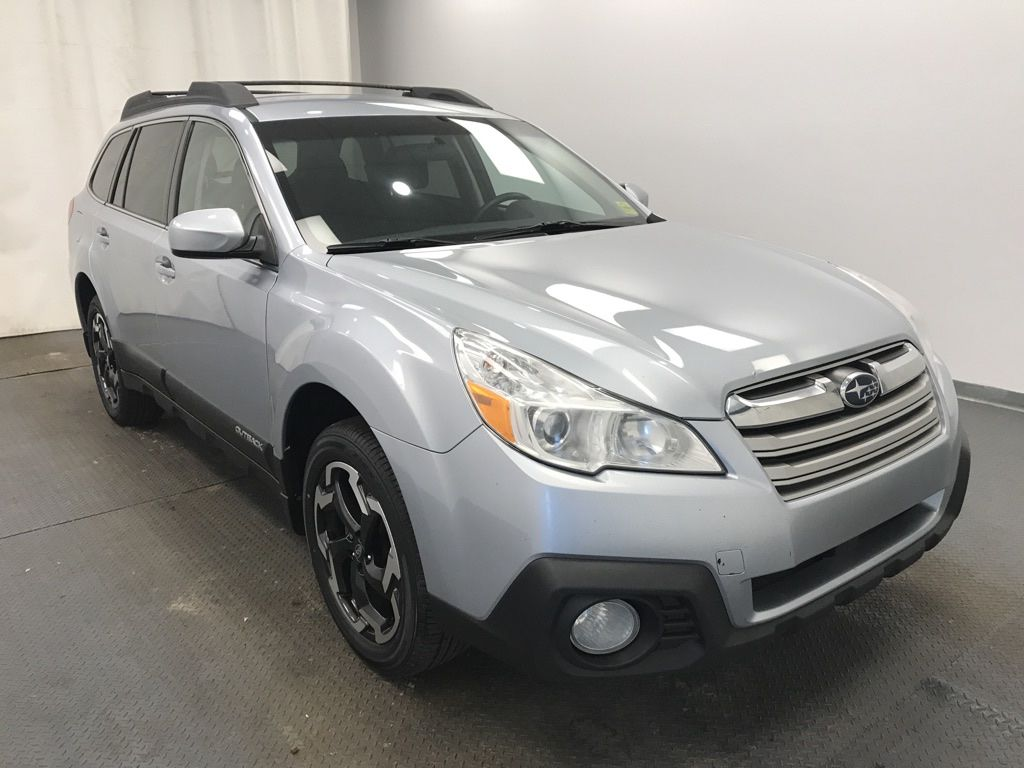 Silver 2014 Subaru Outback Left Front Head Light / Bumper and Grill in Lethbridge AB