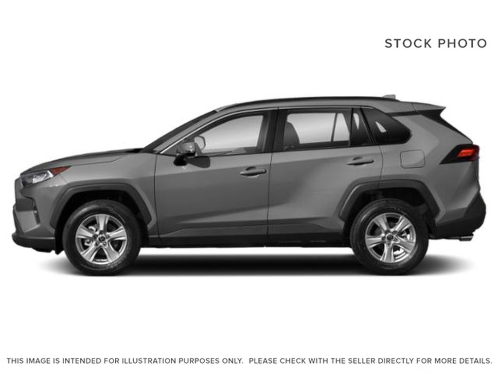 Silver[Silver Sky Metallic] 2021 Toyota RAV4 Left Front Rim and Tire Photo in Brockville ON