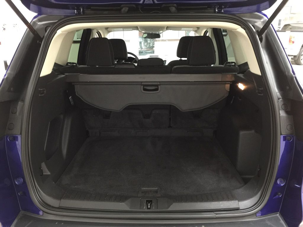 Blue[Deep Impact Blue Metallic] 2016 Ford Escape SE Cargo Area/Rear Seats Photo in Sherwood Park AB