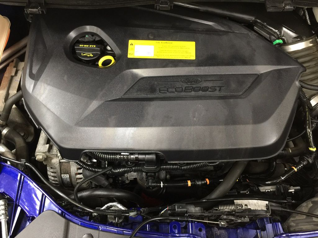 Blue[Deep Impact Blue Metallic] 2016 Ford Escape SE Engine Compartment Photo in Sherwood Park AB
