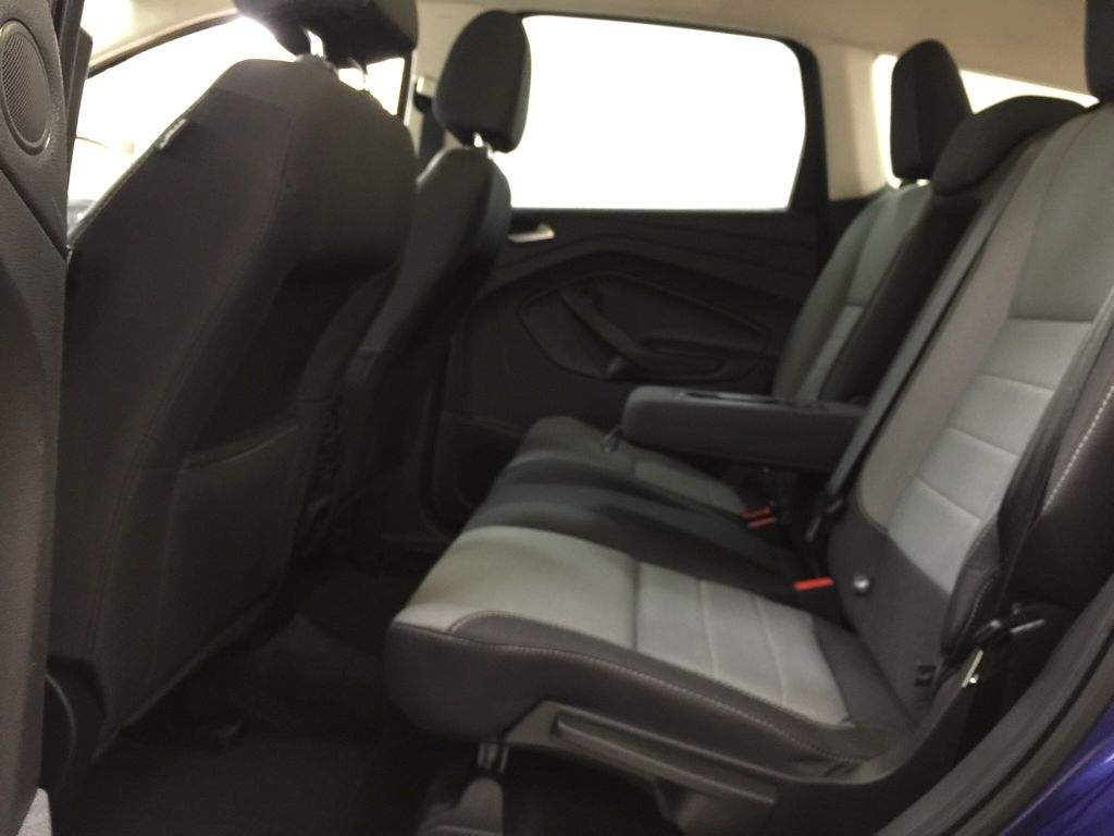 Blue[Deep Impact Blue Metallic] 2016 Ford Escape SE Left Side Rear Seat  Photo in Sherwood Park AB