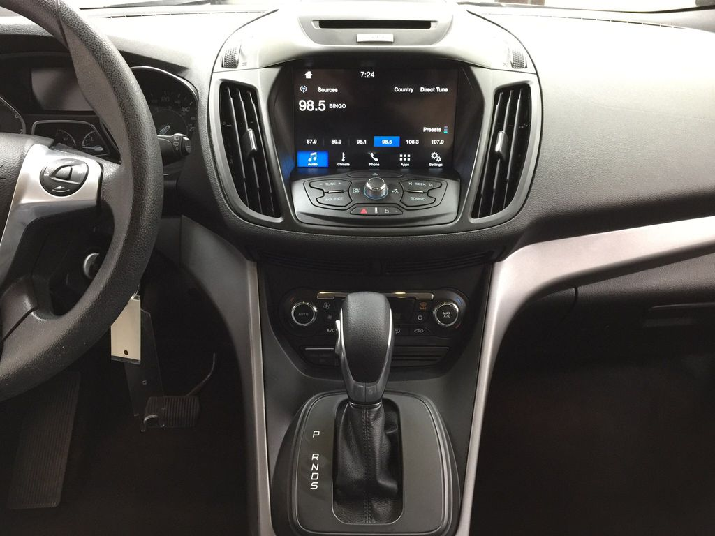 Blue[Deep Impact Blue Metallic] 2016 Ford Escape SE Central Dash Options Photo in Sherwood Park AB
