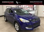 Blue[Deep Impact Blue Metallic] 2016 Ford Escape SE Primary Listing Photo in Sherwood Park AB