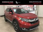 Red[Molten Lava Pearl] 2019 Honda CR-V Touring AWD Primary Listing Photo in Sherwood Park AB