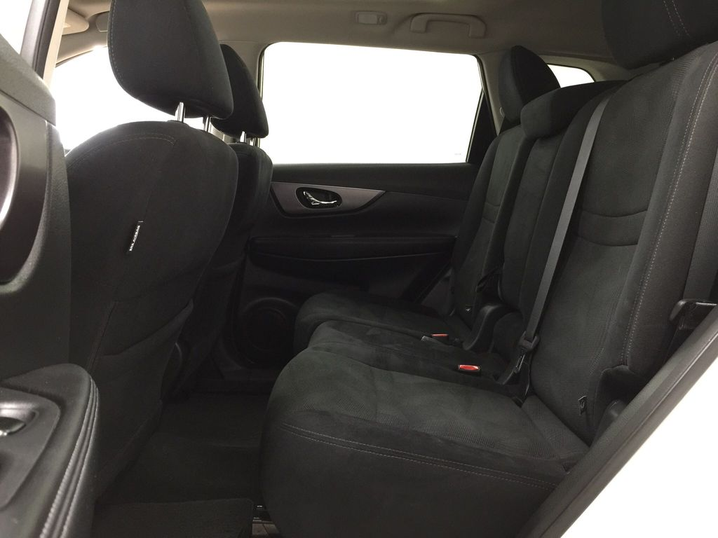 White[Glacier White] 2016 Nissan Rogue SV AWD Left Side Rear Seat  Photo in Sherwood Park AB