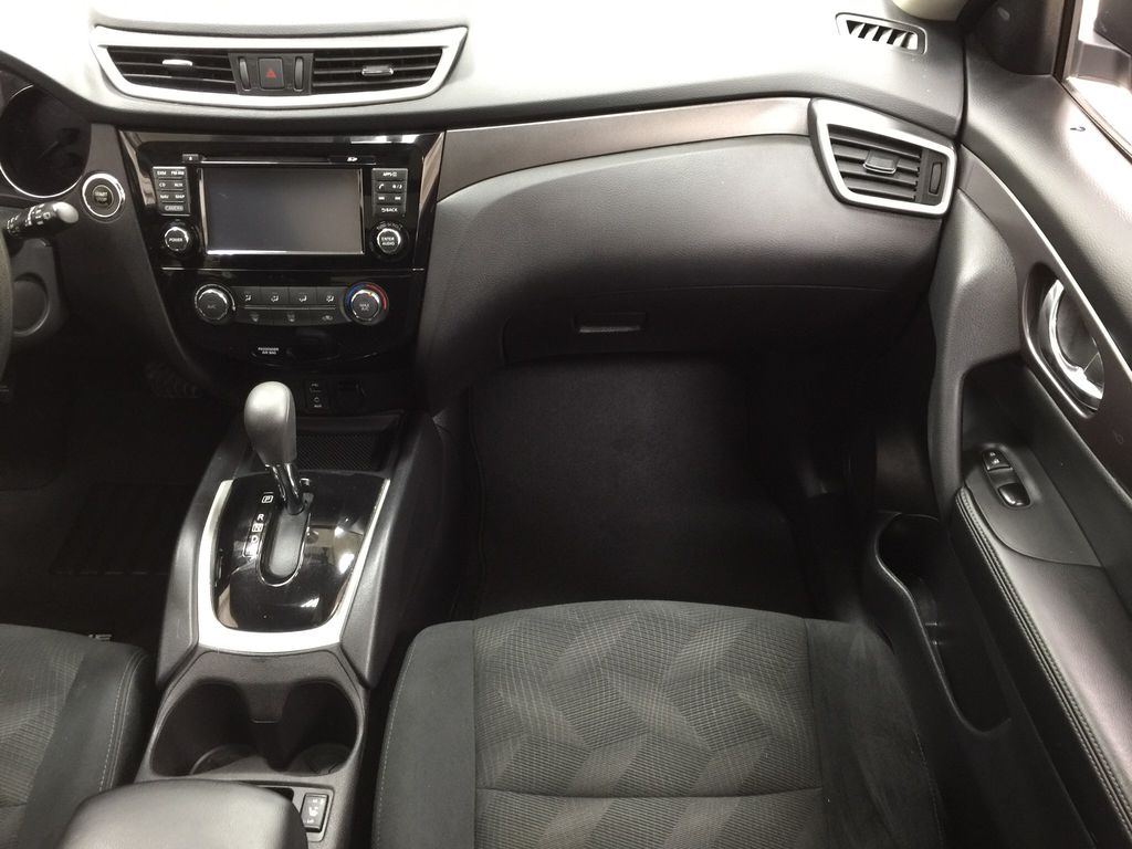White[Glacier White] 2016 Nissan Rogue SV AWD Right Front Seat Photo in Sherwood Park AB