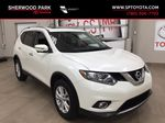 White[Glacier White] 2016 Nissan Rogue SV AWD Primary Listing Photo in Sherwood Park AB