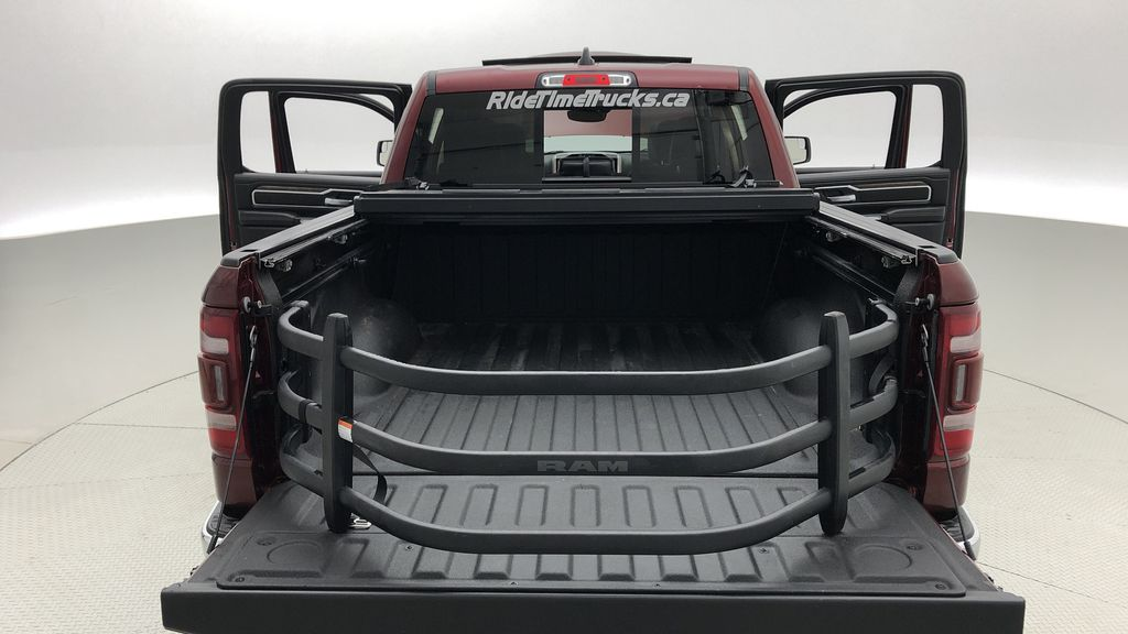 Red[Red Pearl] Lifted 2019 Ram 1500 Laramie 4WD - Pano Roof, 12in Display, Crew Cab Box / Cargo Area Photo in Winnipeg MB