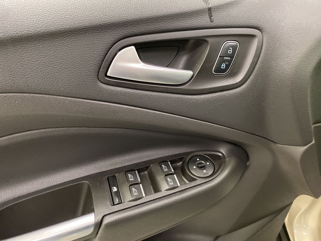 White[Oxford White] 2017 Ford C-Max Hybrid  Driver's Side Door Controls Photo in Dartmouth NS