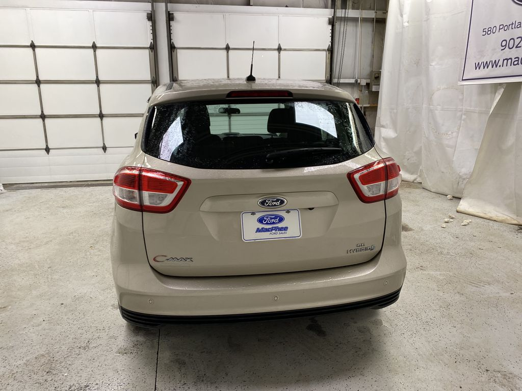 White[Oxford White] 2017 Ford C-Max Hybrid Rear of Vehicle Photo in Dartmouth NS