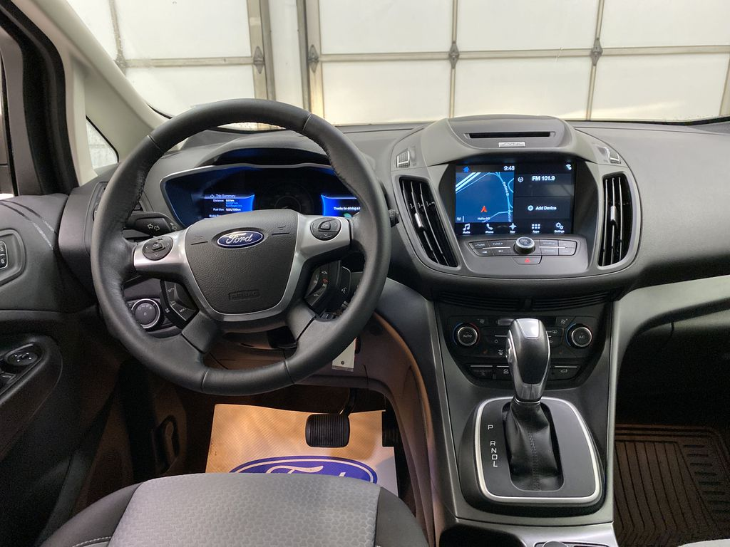 White[Oxford White] 2017 Ford C-Max Hybrid Strng Wheel: Frm Rear in Dartmouth NS