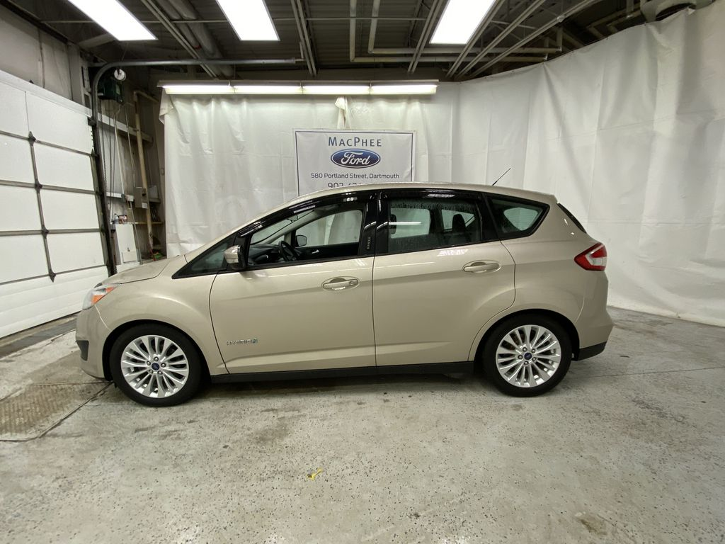 White[Oxford White] 2017 Ford C-Max Hybrid Left Side Photo in Dartmouth NS