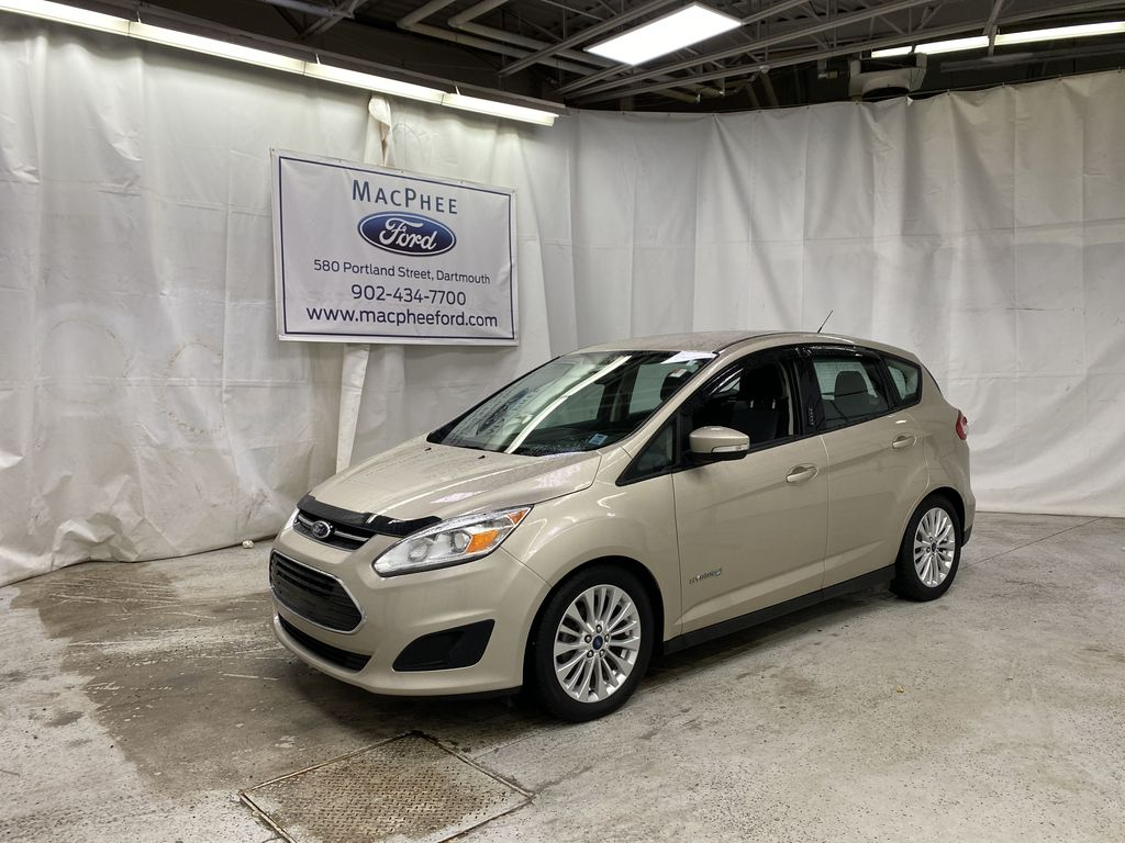 White[Oxford White] 2017 Ford C-Max Hybrid