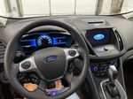 White[Oxford White] 2017 Ford C-Max Hybrid Steering Wheel and Dash Photo in Dartmouth NS
