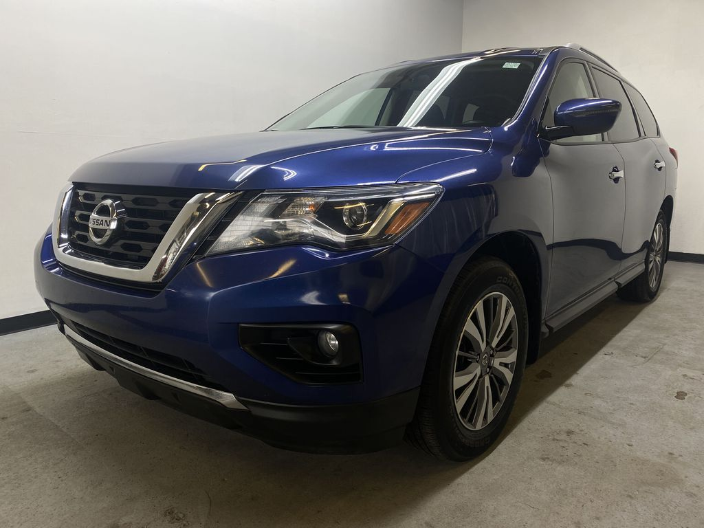 BLUE 2019 Nissan Pathfinder SV-Tech - NAV, Heated Front Seats, Remote Start Left Front Head Light / Bumper and Grill in Edmonton AB