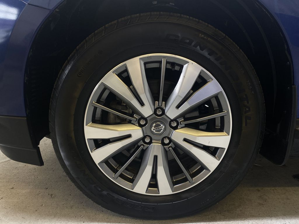 BLUE 2019 Nissan Pathfinder SV-Tech - NAV, Heated Front Seats, Remote Start Left Front Rim and Tire Photo in Edmonton AB