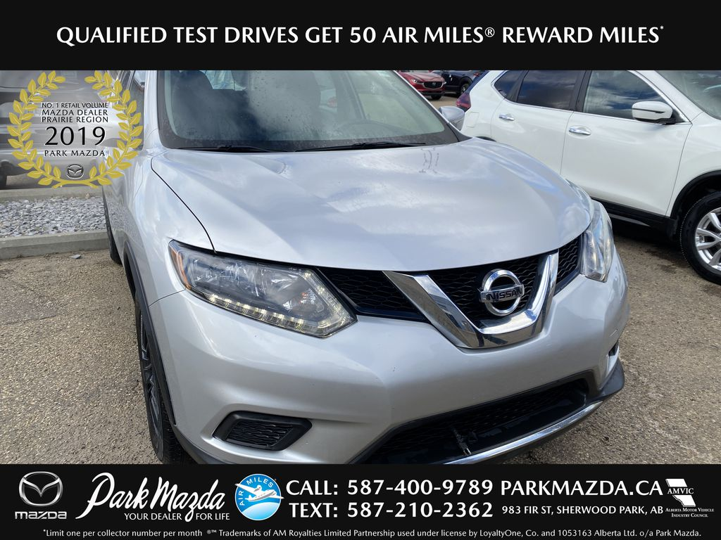 SILVER 2014 Nissan Rogue S AWD - Bluetooth, Backup Cam, Steering Wheel Controls
