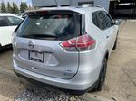 SILVER 2014 Nissan Rogue S AWD - Bluetooth, Backup Cam, Steering Wheel Controls Left Front Interior Photo in Edmonton AB