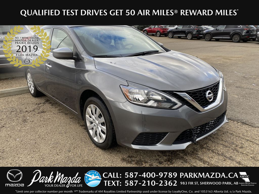 GREY 2017 Nissan Sentra S - Bluetooth, Brake Assist, Cruise Control