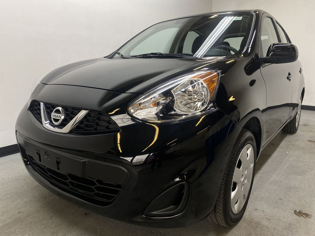 BLACK 2017 Nissan Micra S - Brake Assist, Cruise Control, AM/FM Radio Left Front Head Light / Bumper and Grill in Edmonton AB
