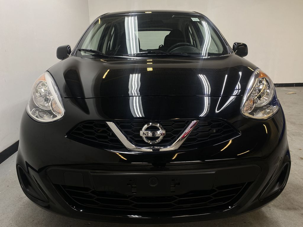 BLACK 2017 Nissan Micra S - Brake Assist, Cruise Control, AM/FM Radio Front Vehicle Photo in Edmonton AB