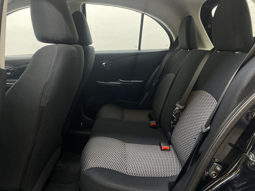 BLACK 2017 Nissan Micra S - Brake Assist, Cruise Control, AM/FM Radio Left Side Rear Seat  Photo in Edmonton AB