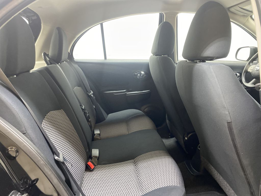 BLACK 2017 Nissan Micra S - Brake Assist, Cruise Control, AM/FM Radio Right Side Rear Seat  Photo in Edmonton AB
