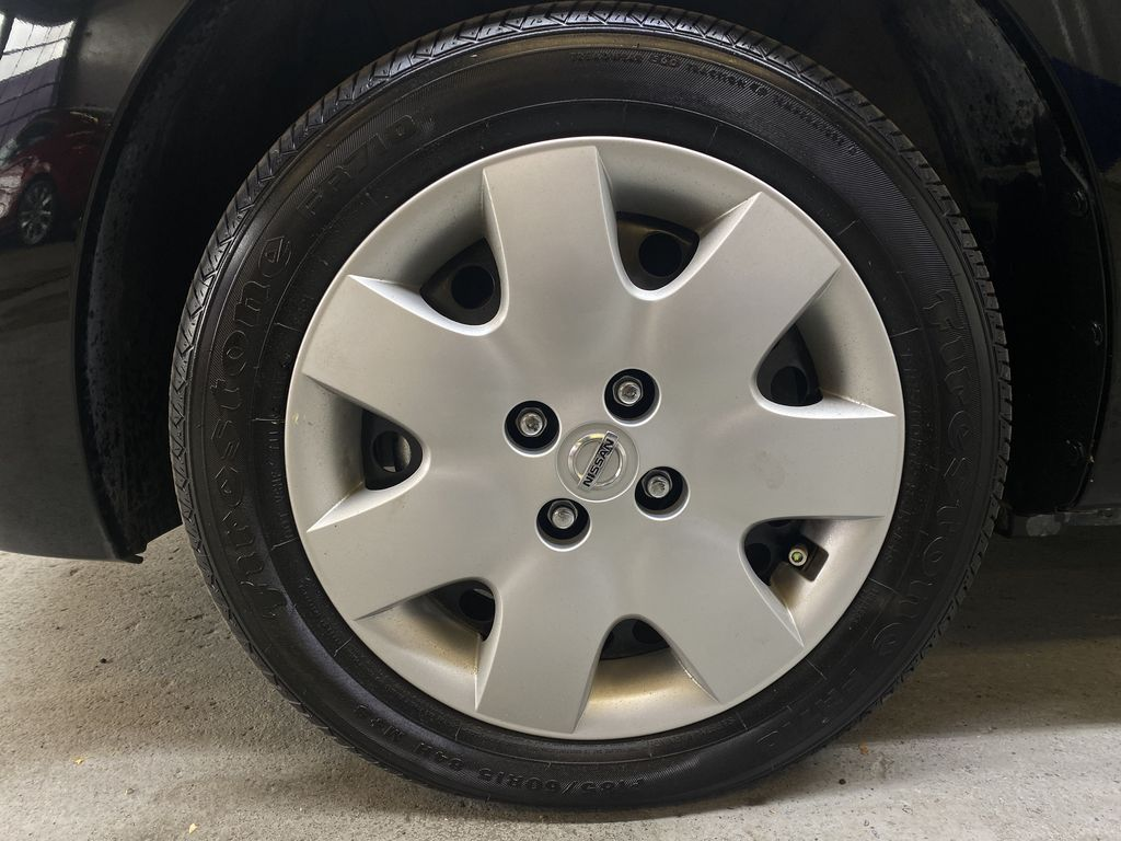 BLACK 2017 Nissan Micra S - Brake Assist, Cruise Control, AM/FM Radio Left Front Rim and Tire Photo in Edmonton AB