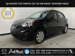 BLACK 2017 Nissan Micra S - Brake Assist, Cruise Control, AM/FM Radio Primary Listing Photo in Edmonton AB