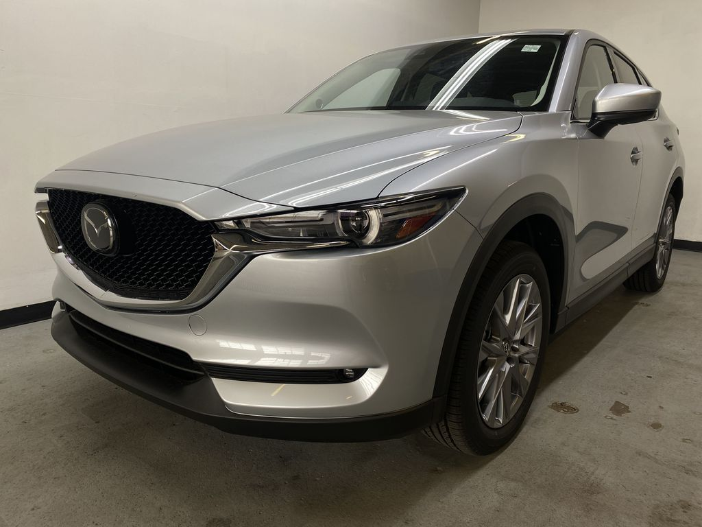 SONIC SILVER METALLIC(45P) 2021 Mazda CX-5 GT AWD Left Front Head Light / Bumper and Grill in Edmonton AB