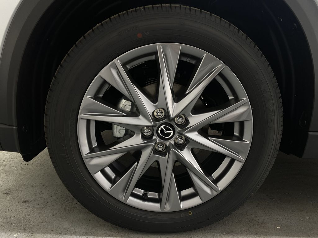 SONIC SILVER METALLIC(45P) 2021 Mazda CX-5 GT AWD Left Front Rim and Tire Photo in Edmonton AB