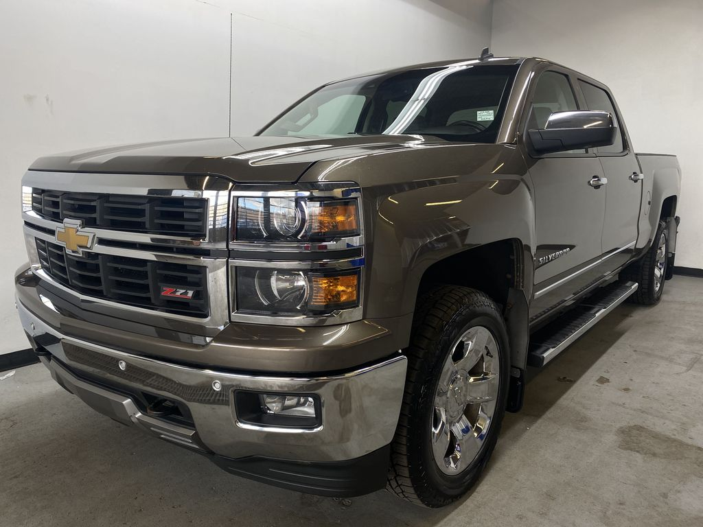 BROWN 2014 Chevrolet Silverado 1500 LTZ Z71 - Bluetooth, Backup Cam, Remote Start Left Front Head Light / Bumper and Grill in Edmonton AB