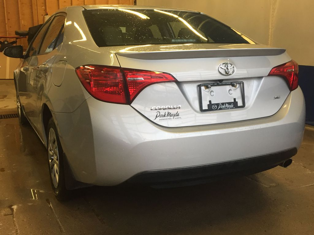SILVER 2019 Toyota Corolla SE -  NAV, Bluetooth, Backup Camera, Heated Front Seats Left Front Rim and Tire Photo in Edmonton AB