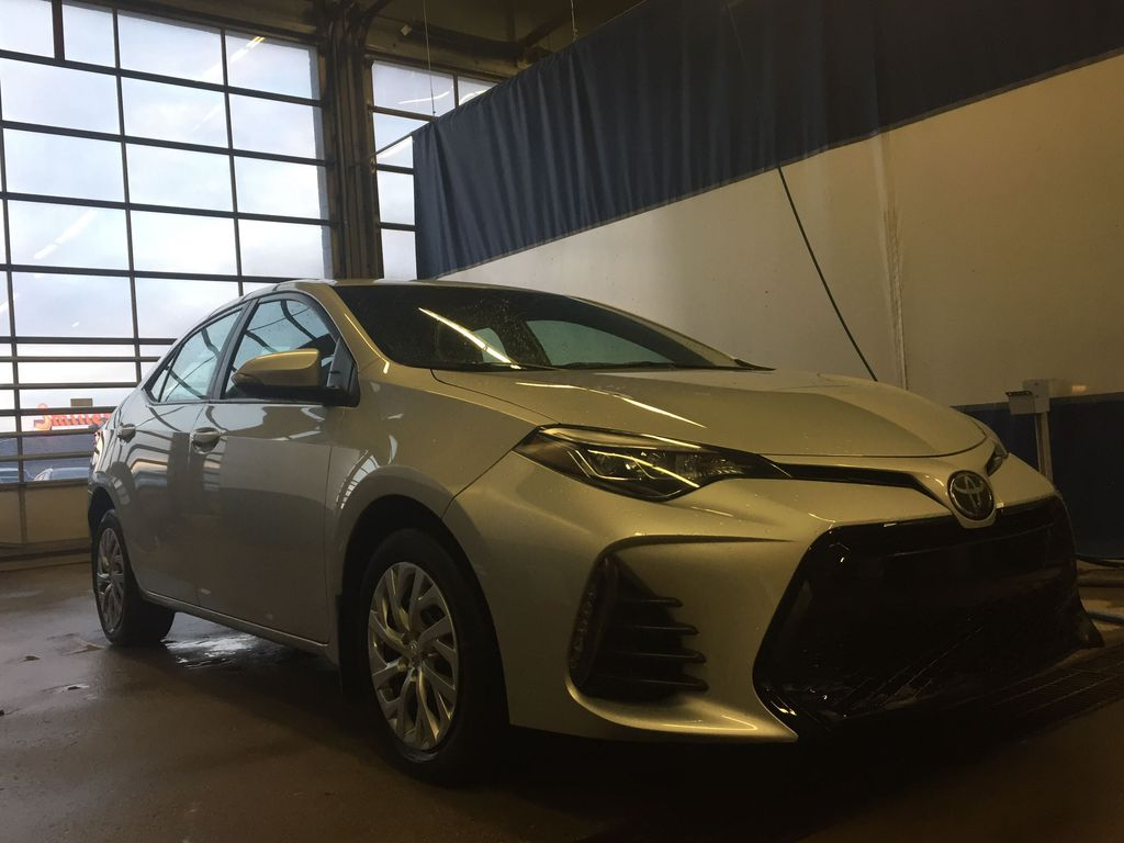 SILVER 2019 Toyota Corolla SE -  NAV, Bluetooth, Backup Camera, Heated Front Seats Engine Compartment Photo in Edmonton AB