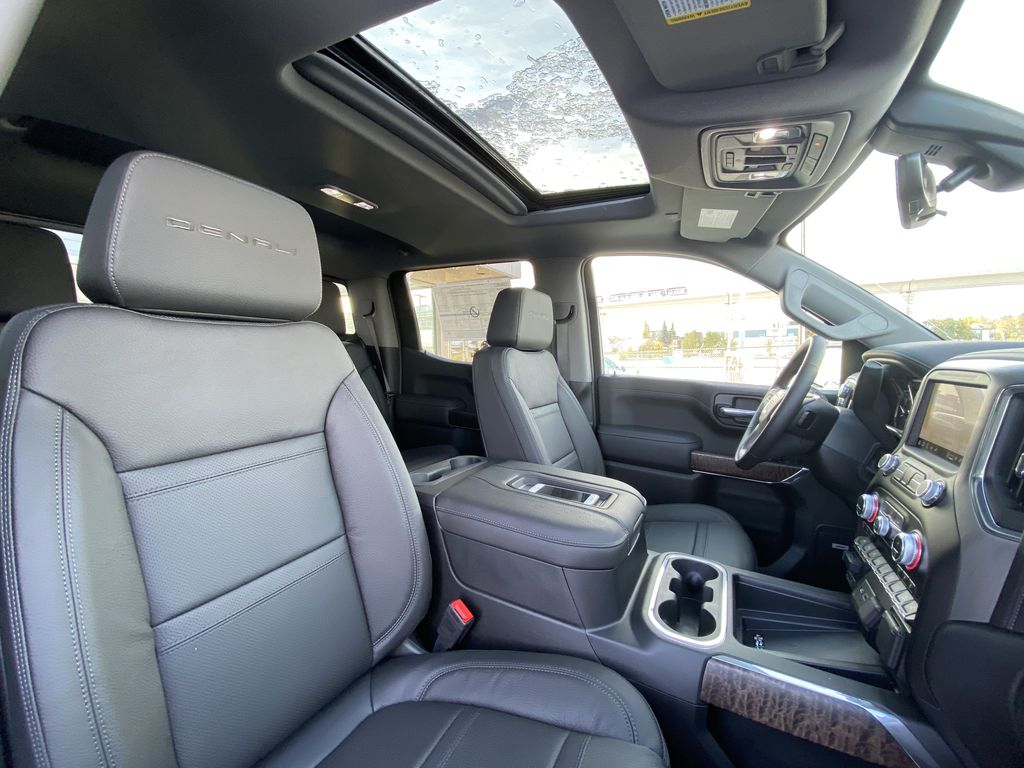 Blue[Pacific Blue Metallic] 2021 GMC Sierra 1500 Denali Right Side Front Seat  Photo in Calgary AB