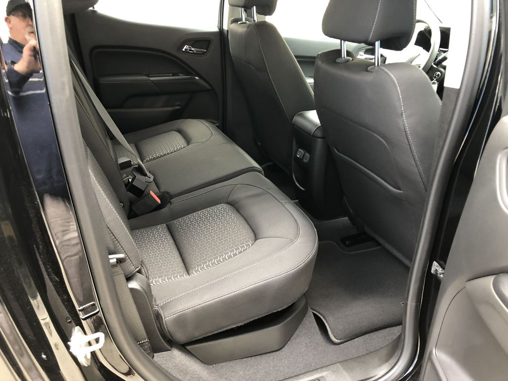 Black[Onyx Black] 2020 GMC Canyon SLE Right Side Rear Seat  Photo in Canmore AB