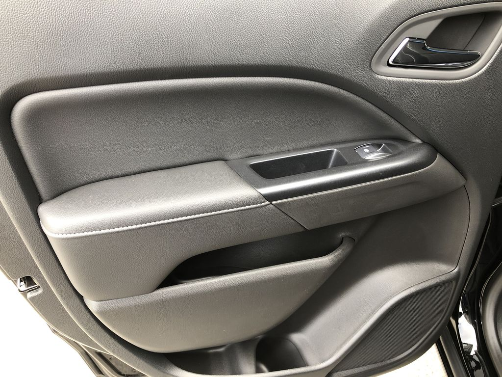 Black[Onyx Black] 2020 GMC Canyon SLE Left Rear Interior Door Panel Photo in Canmore AB